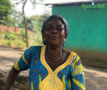 Beautiful Woman from Atwimakrom Congo Village, Ashanti Region, Southwest Ghana - December 2019